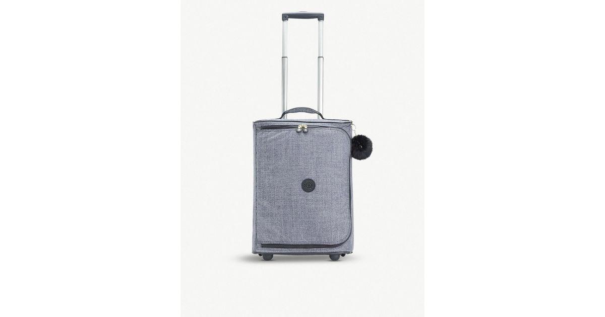 e6decd71b52 Lyst - Kipling Teagan Xs Wheeled Nylon Suitcase 50.5cm in Blue for Men