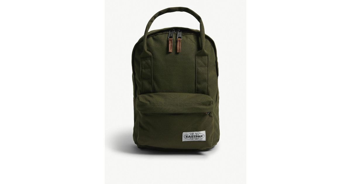 cabb49a17fd6 Men Lyst Backpack in Green Padded for Eastpak Opgrade Green Shop r SVMUpz