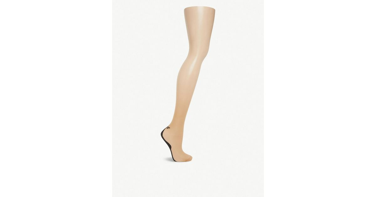 47ed0f52863 Falke Rope Twist 8 Den Tights - Lyst