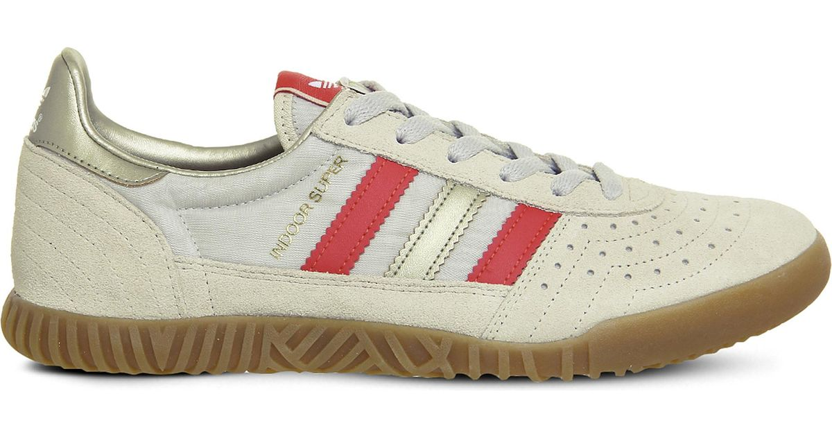 5362f8751634e0 Lyst - adidas Indoor Super Suede Trainers for Men