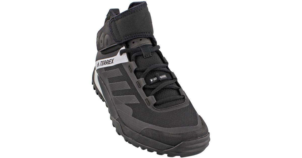 big sale d1f46 4aa3f adidas Terrex Trail Cross Protect in Black for Men - Lyst
