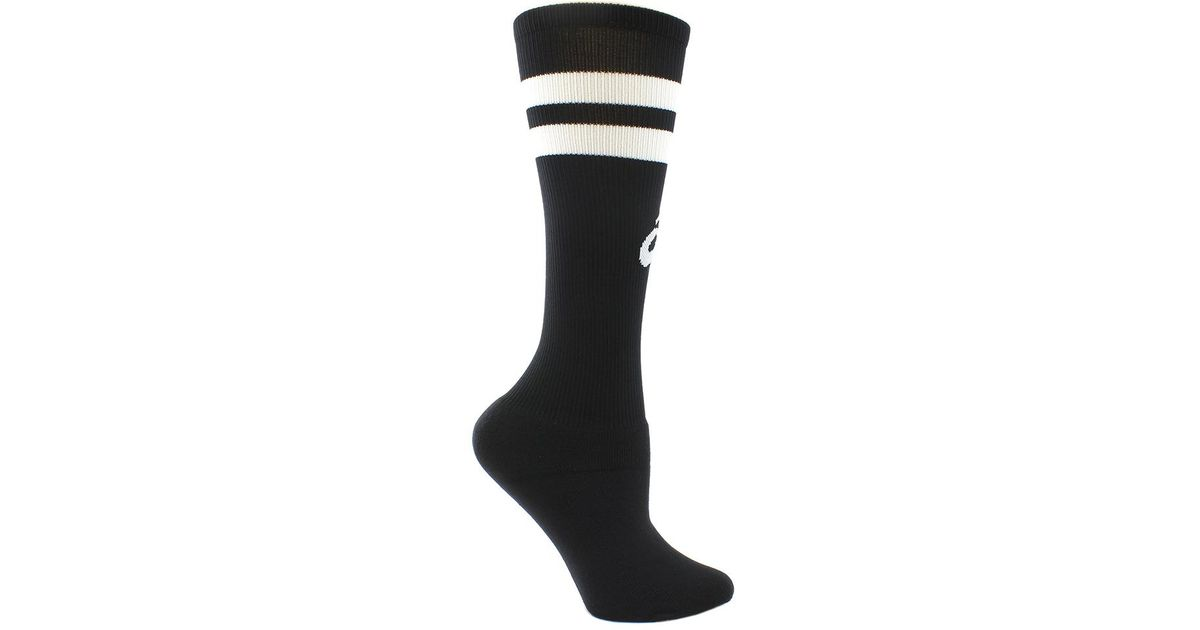 e1d31c9a40c Lyst - Asics Old School Striped Knee High in Black for Men