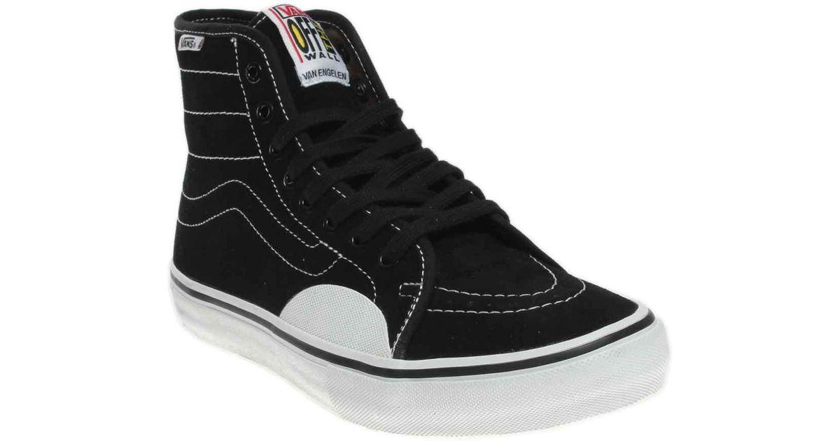 02403207a915 Lyst - Vans Av Classic High Pro in Black for Men