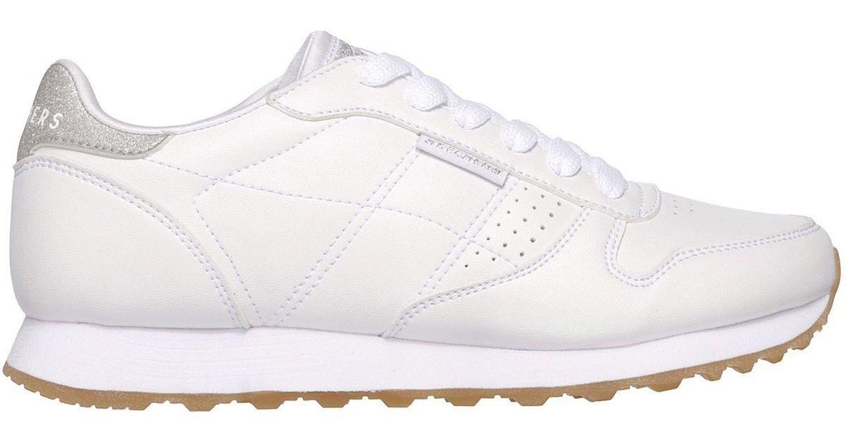 7293e938c0099 Lyst - Skechers Og 85 - Old School Cool in White