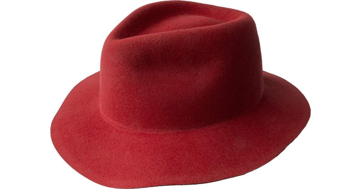 c8c7d267a97ff Bailey of Hollywood Pierpont Litefelt Fedora 70602bh in Red for Men - Lyst