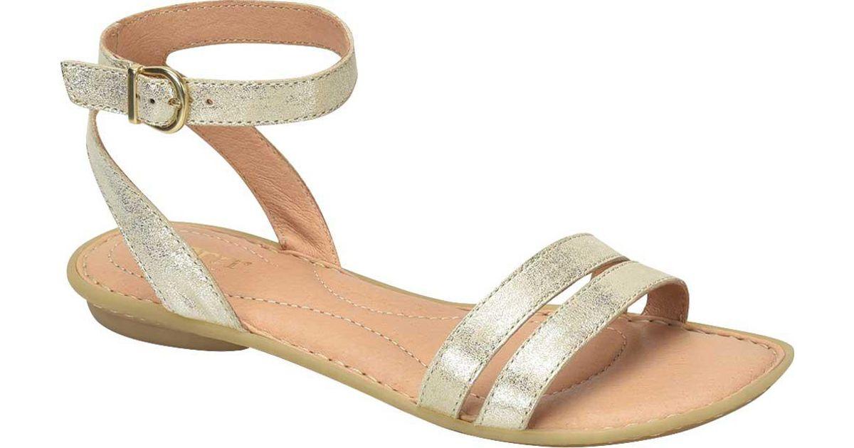 ffd9f8839f78 Lyst - Born Mai Easy Ankle Strap Sandal