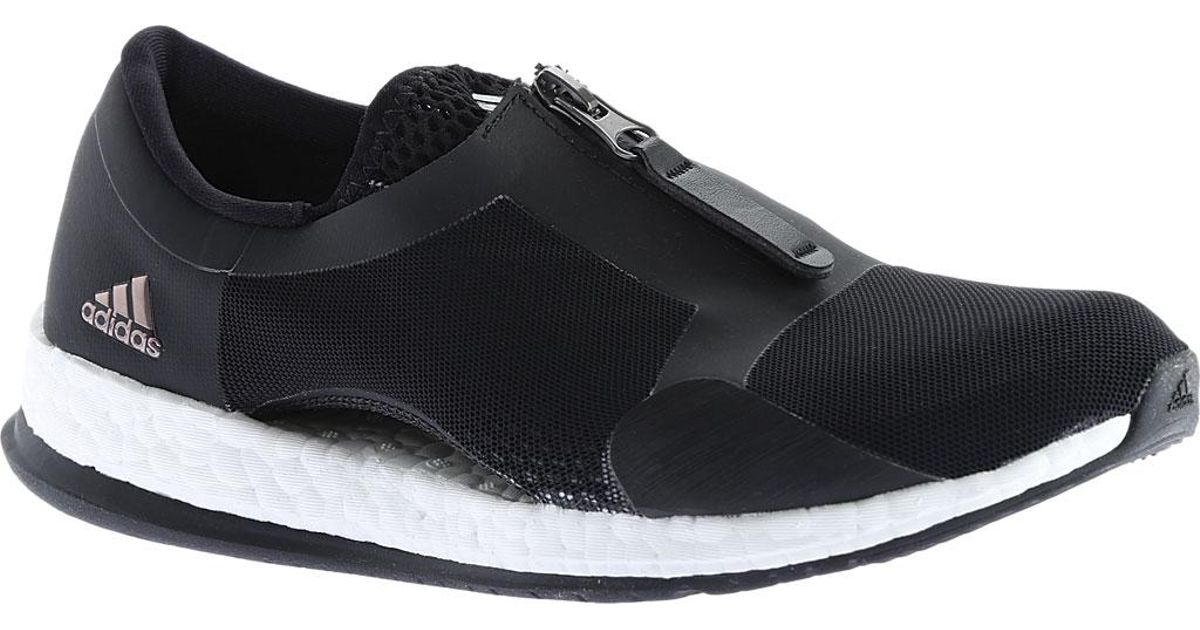 a941c2193 ... discount code for lyst adidas pure boost x tr zip training shoe in  black f4900 d0ca8