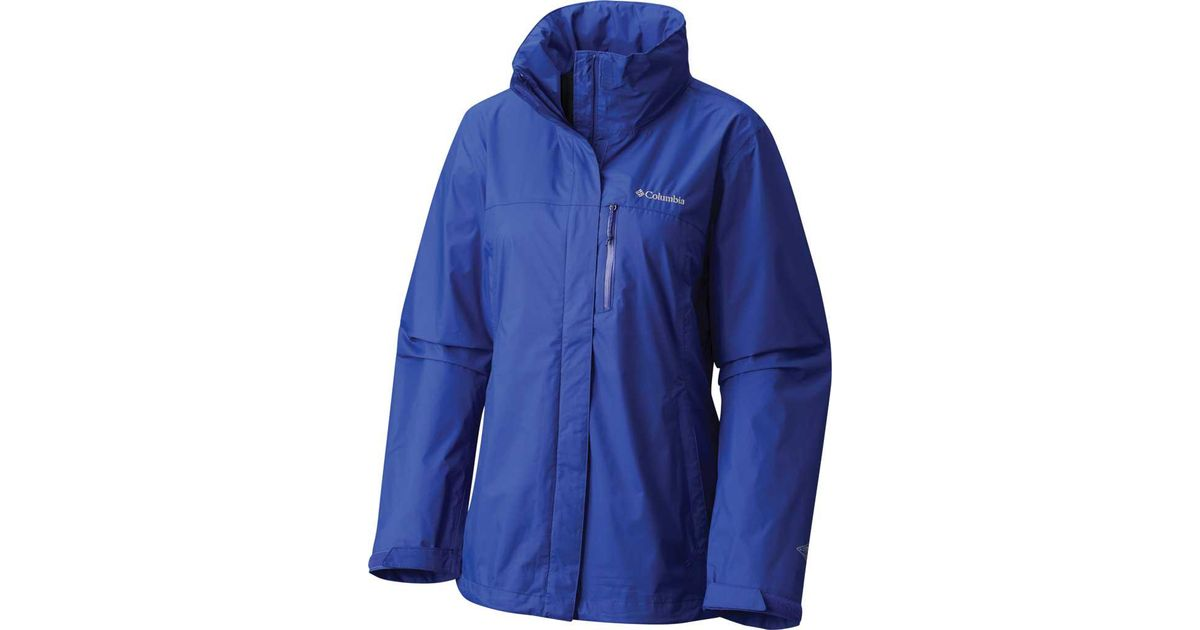 Lyst - Columbia Pouration Jacket in Blue ceb789be44