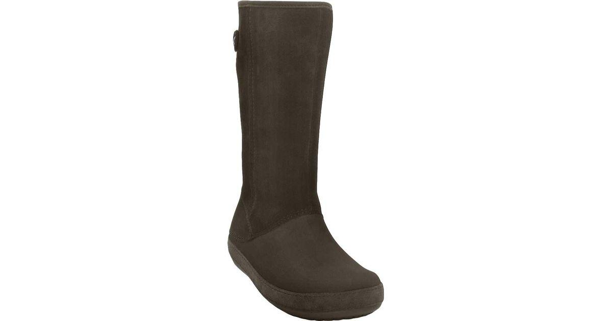 f01295a41 Lyst - Crocs™ Berryessa Suede Boot