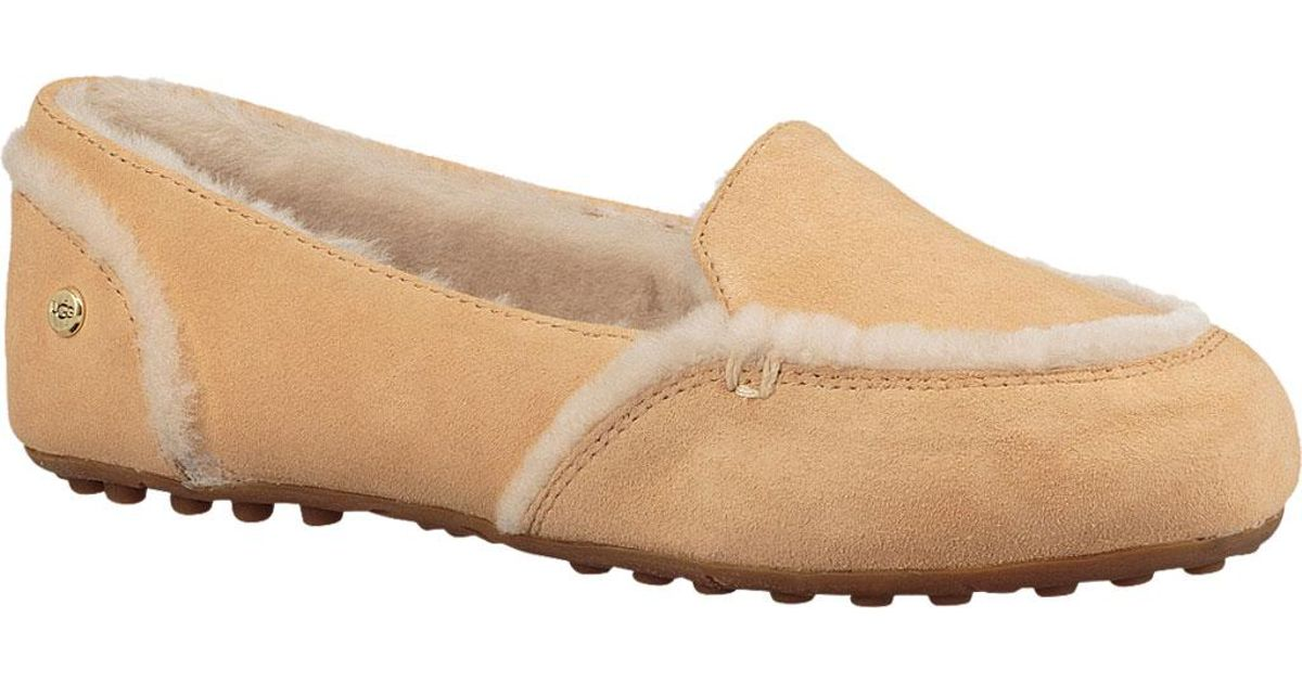 910123f0b22 Lyst - Ugg Hailey Moccasin Slipper in Natural