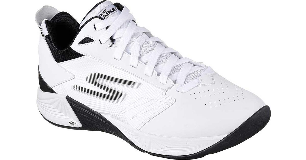 1163830a29d6 Skechers Gobasketball Torch 2 Mid Basketball Shoe in White for Men - Lyst
