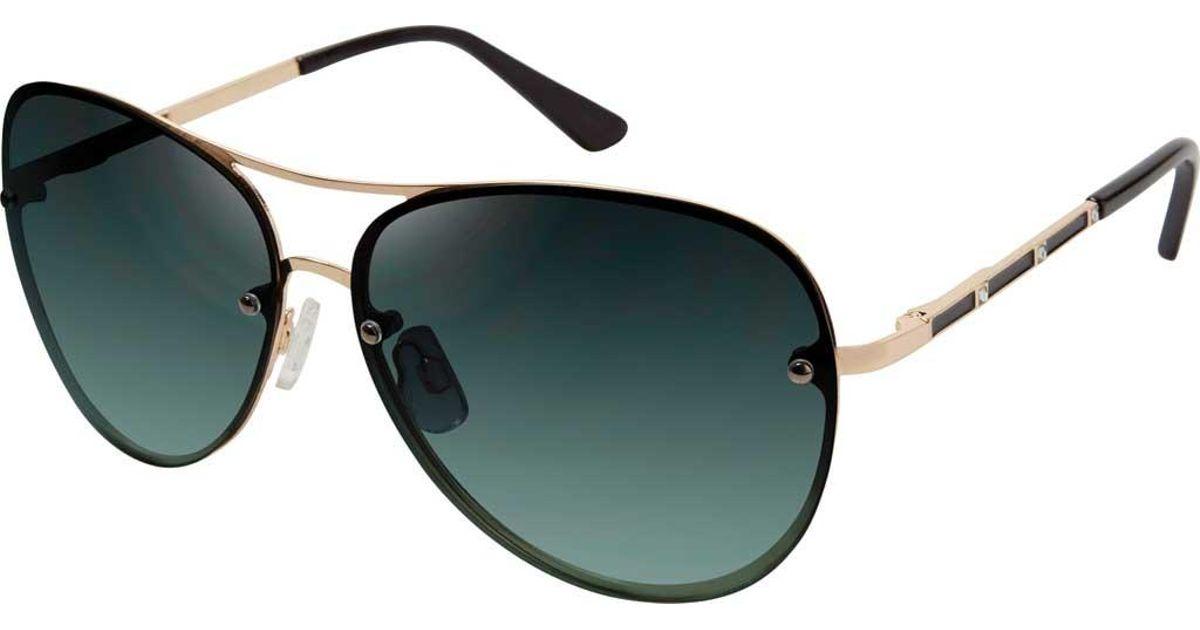 23a47faf2b3 Tahari - Multicolor Th651 Aviator Sunglasses - Lyst