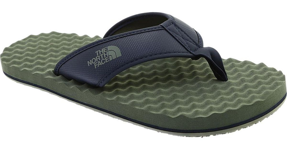 a316fdefb The North Face - Blue Base Camp Flip-flop for Men - Lyst