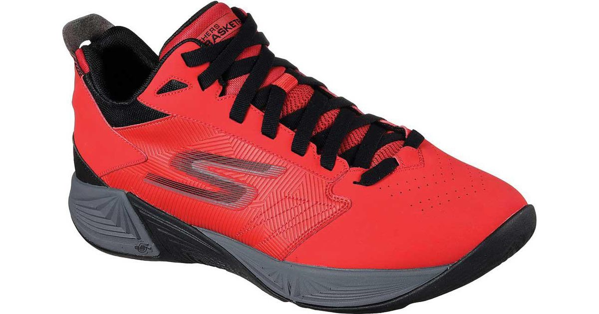2b0fe4c0210b Skechers Gobasketball Torch 2 Mid Basketball Shoe in Red for Men - Lyst