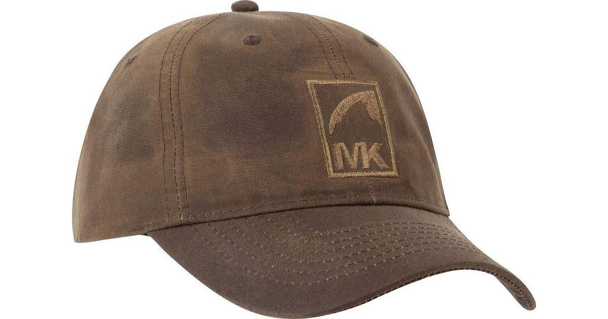 b134e4814df902 Mountain Khakis Waxed Cotton Baseball Cap in Brown for Men - Lyst
