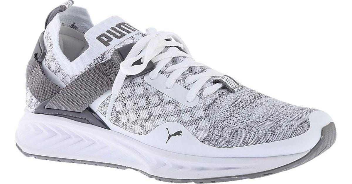 9b77c6a160b9 Lyst - Puma Ignite Evoknit Lo Sneaker in White for Men