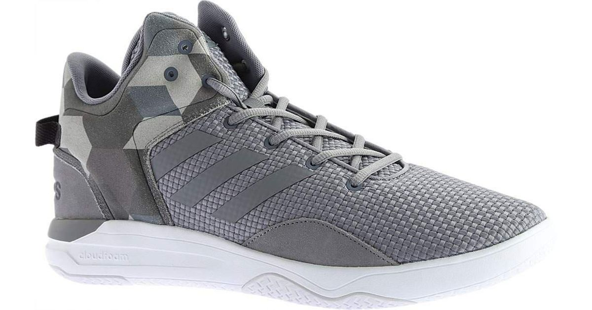 Lyst - adidas Neo Cloudfoam Revival Mid Basketball Shoe in Gray for Men 565c2d570