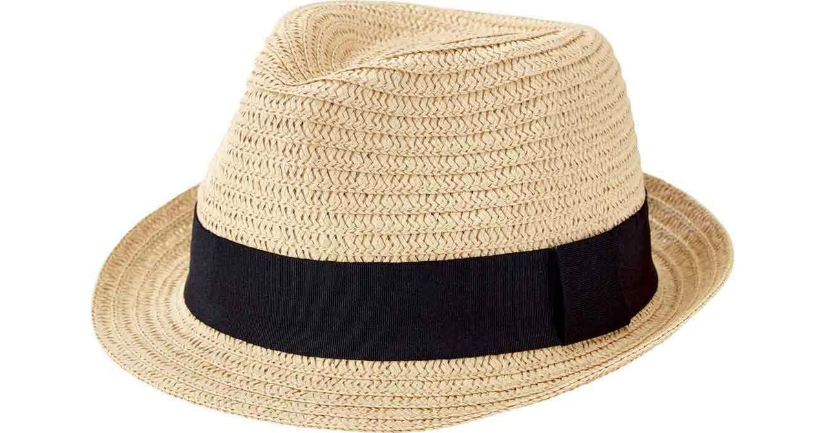 Lyst - San Diego Hat Company Solid Ultrabraid Fedora Ubf1018 in Natural for  Men e2c4dde209bf