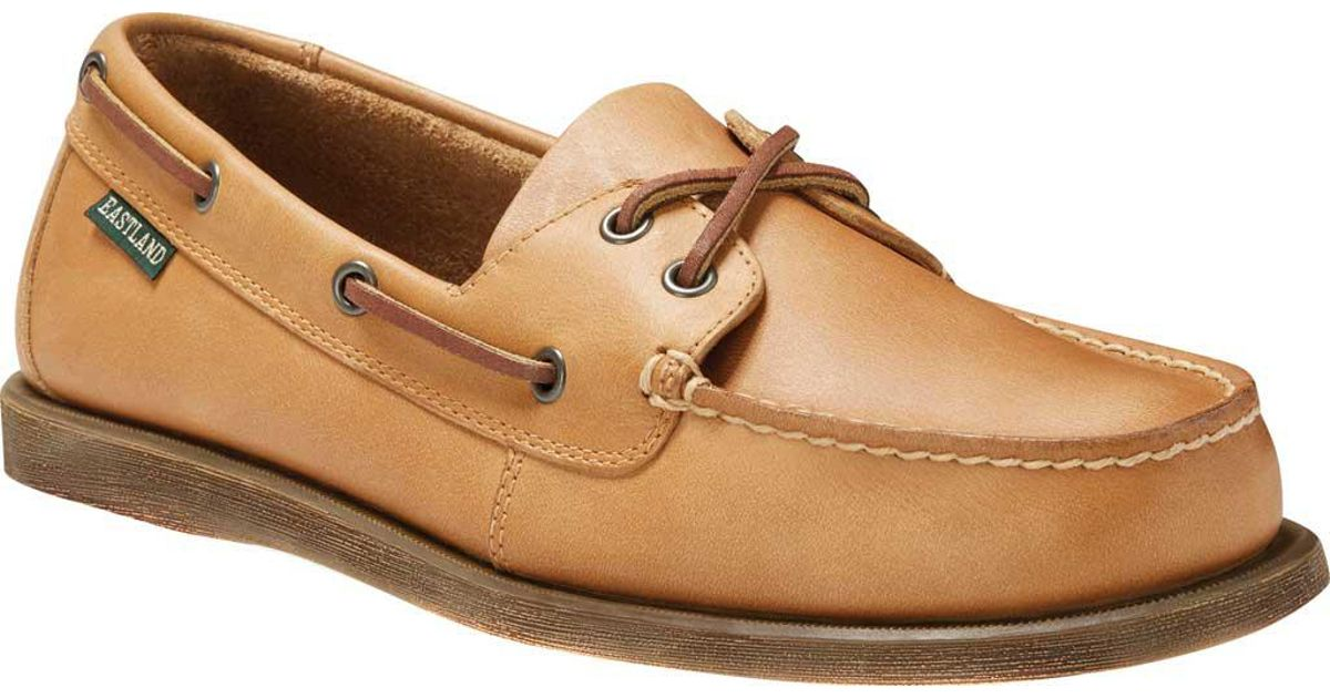 Eastland Seaquest Boat Shoe(Men's) -Dark Brown Leather Shopping Online With Mastercard FISHkHixu