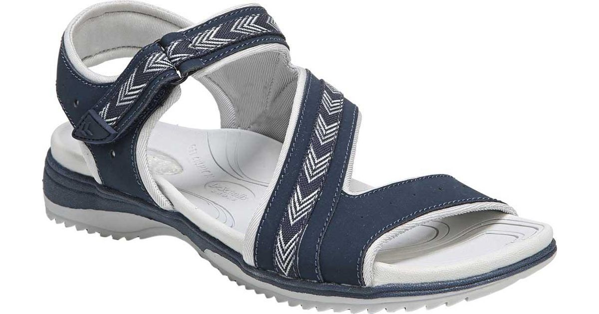 d482a6f90d8a Lyst - Dr. Scholls Daydream Active Sandal in Blue - Save 55%