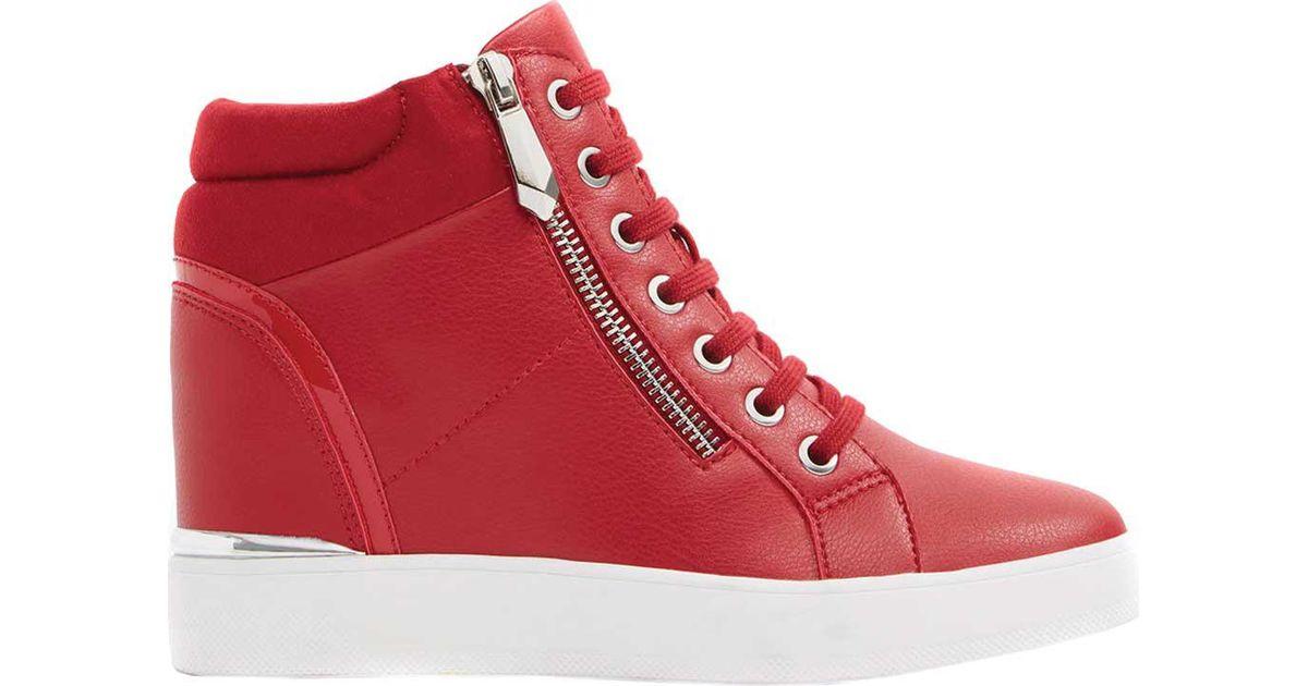 5502d5a83f37 Lyst aldo ailanna wedge sneaker in red jpeg 1200x630 Aldo red wedge sneakers