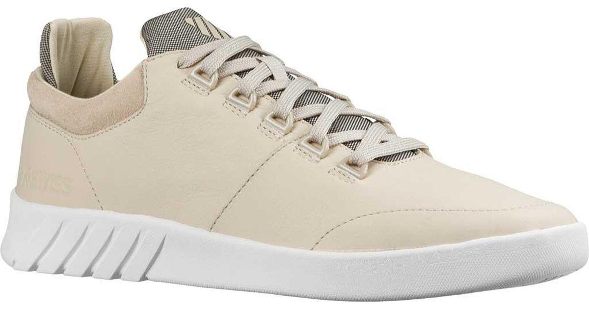 fd2bd53c718 Lyst - K-Swiss Aero Trainer Sneaker in White for Men
