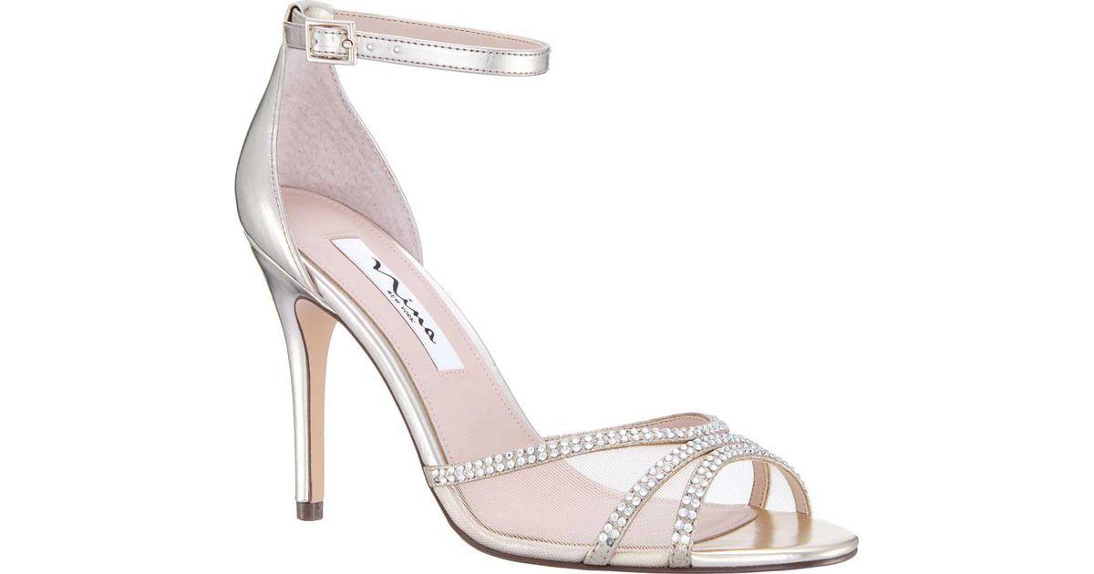 Nina Calissa Ankle Strap Stiletto Sandal (Women's) YsGXbq1