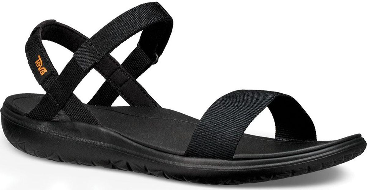 c43592d22148 Lyst - Teva Terra-float Nova Sandal in Black
