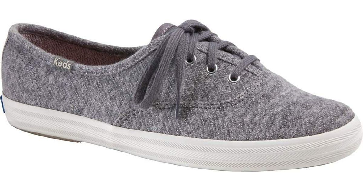 d1cb8b9c07f Lyst - Keds Champion Oxford Canvas Sneaker in Gray