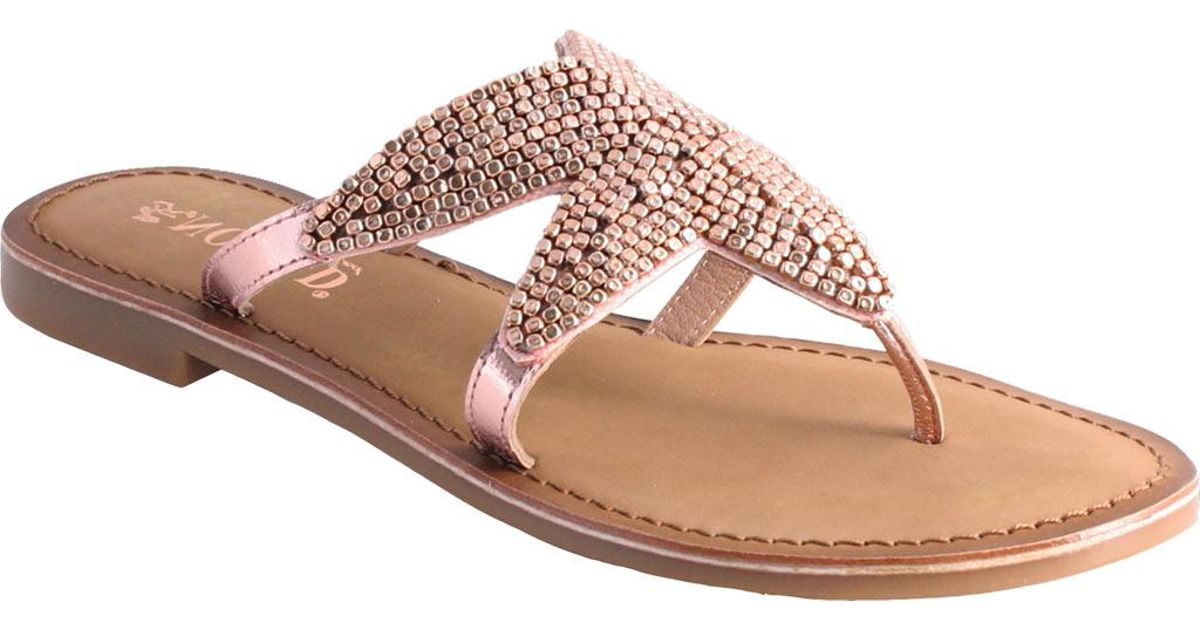 Nomad Shelly Starfish Thong Sandal (Women's) MnF3P1k