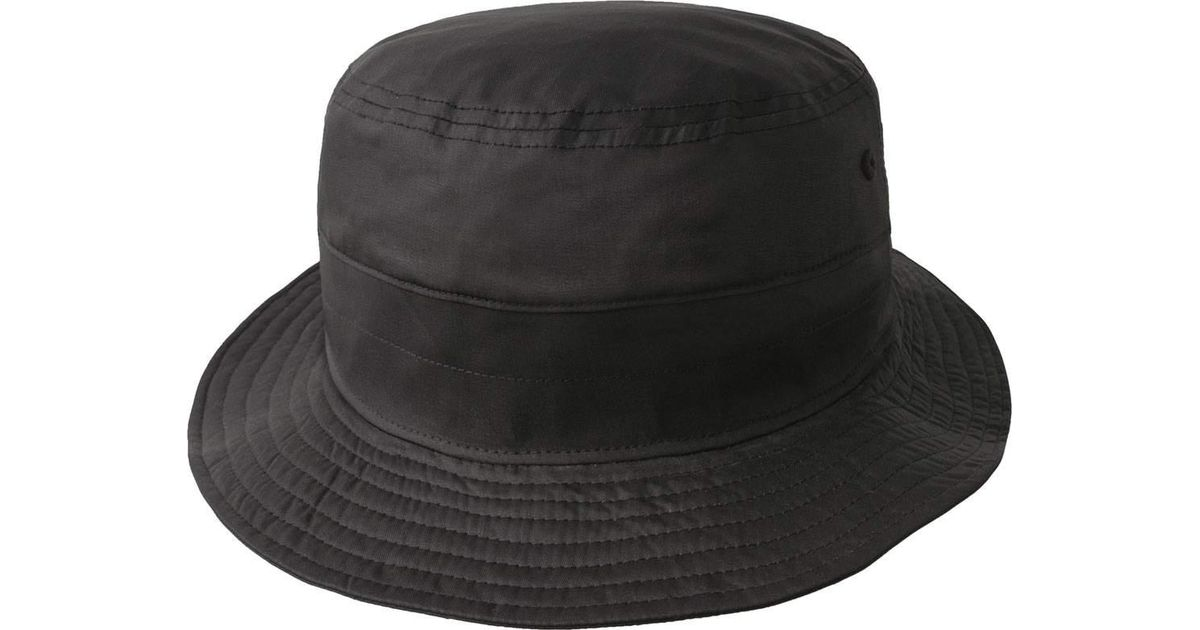 526a3f1a4f1 Lyst - Kangol Coated Bucket Hat in Black for Men