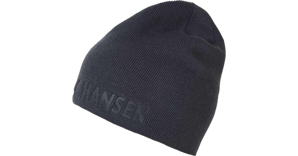 cfd4381cf86 Lyst - Helly Hansen Outline Reversible Beanie in Blue for Men