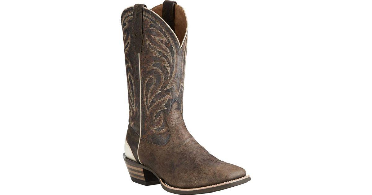 d7d24470098 Ariat Brown Fire Creek Cowboy Boot for men
