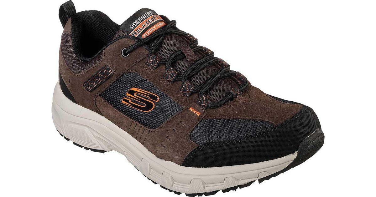 d42366bf521d Lyst - Skechers Relaxed Fit Oak Canyon Sneaker in Black for Men