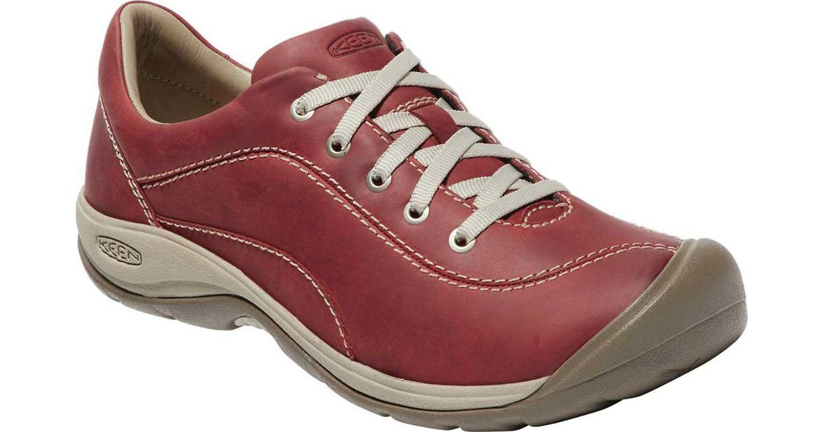 9631eec114da Lyst - Keen Presidio Ii Sneaker in Red