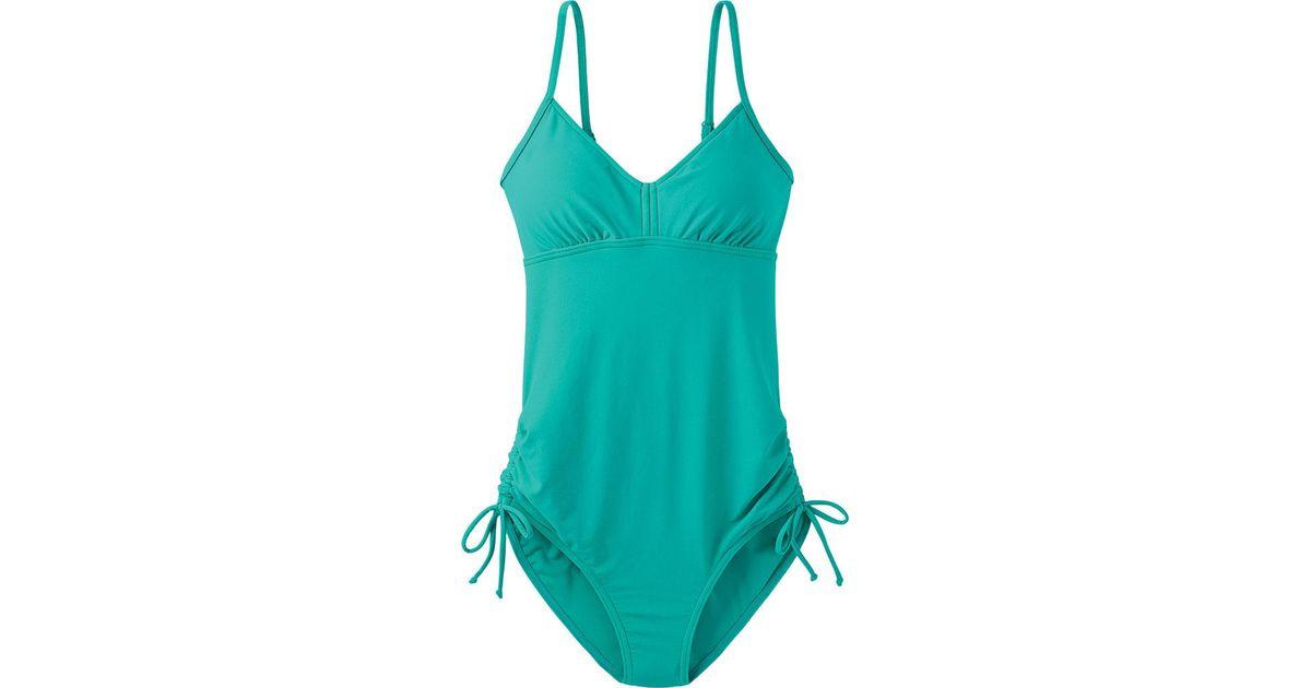 2a579493147a6 Lyst - Prana Moorea One Piece Bathing Suit in Blue