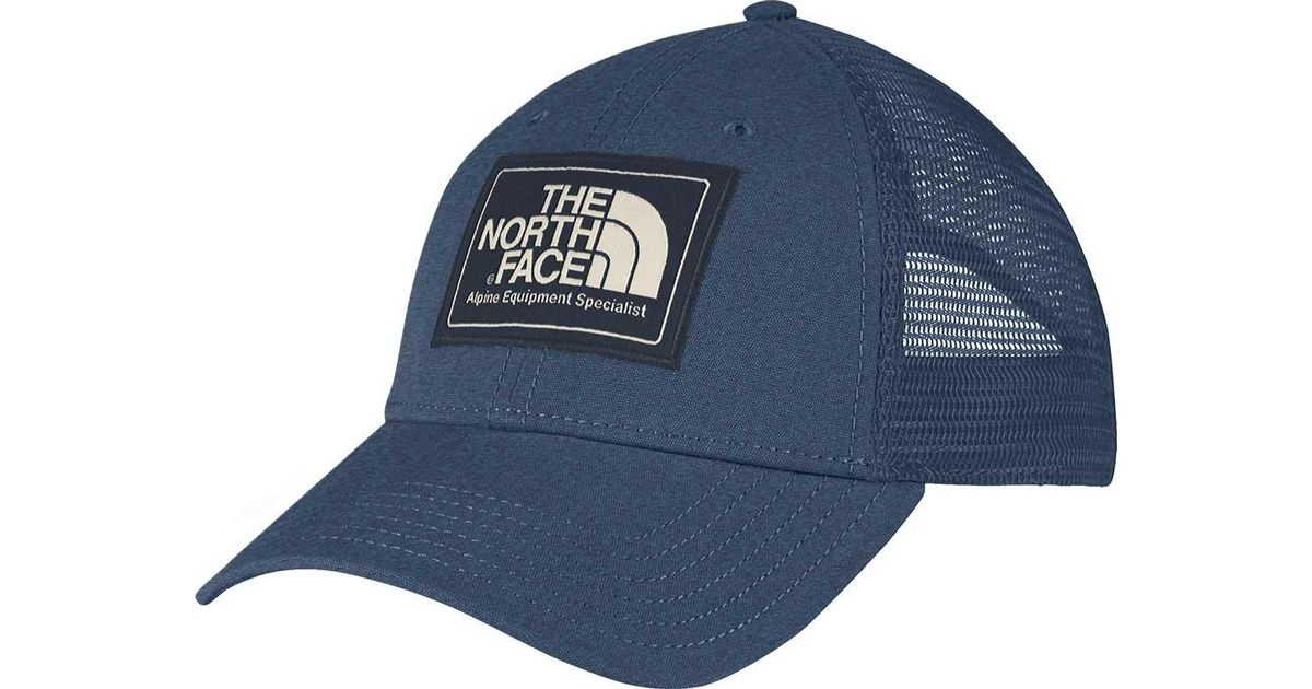 27e7830181e Lyst - The North Face Mudder Trucker Hat in Blue for Men