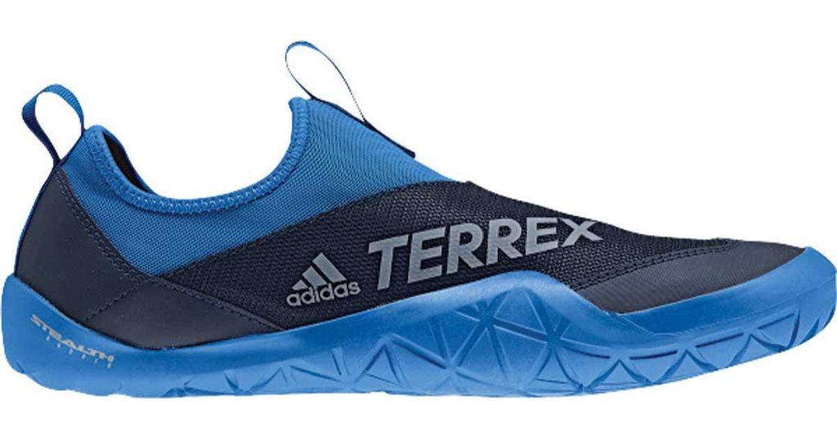 7ac8f2254dc5 Lyst - adidas Terrex Climacool Jawpaw Ii Slip On Water Shoe in Blue for Men