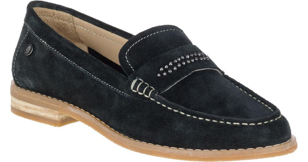 4e3d461868c Lyst - Hush Puppies Aubree Chardon Penny Loafer in Black