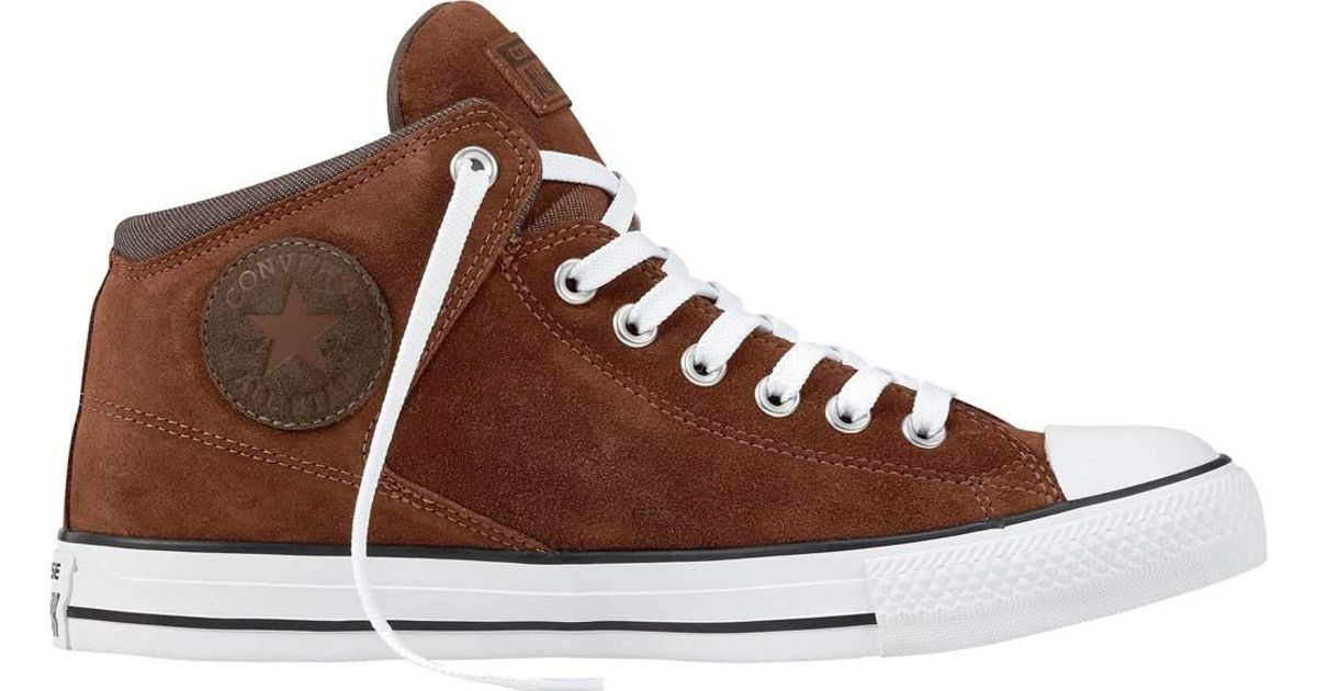 d5f416175569 Lyst - Converse Chuck Taylor All Star High Street Suede   Thermal in Brown  for Men