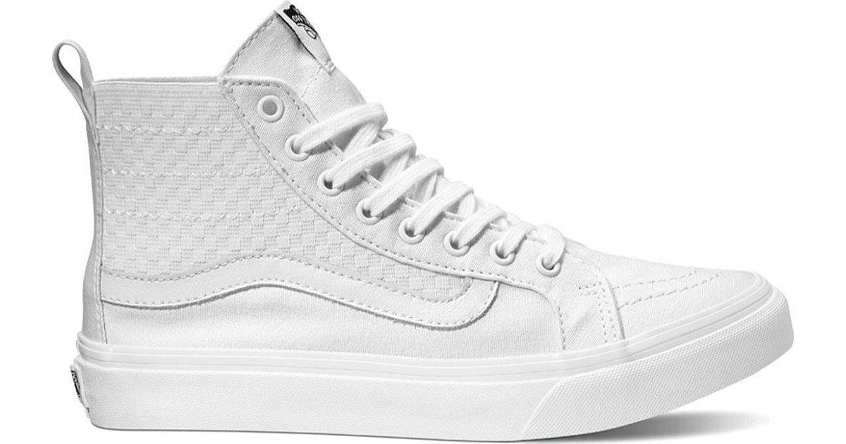 96602a6858 Lyst - Vans Sk8-hi Slim Gore High Top in White for Men