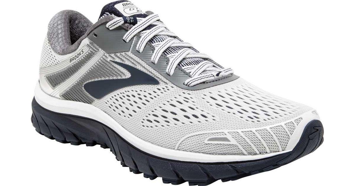 23172fdc321e7 Lyst - Brooks Adrenaline Gts 18 Running Shoe in Gray for Men