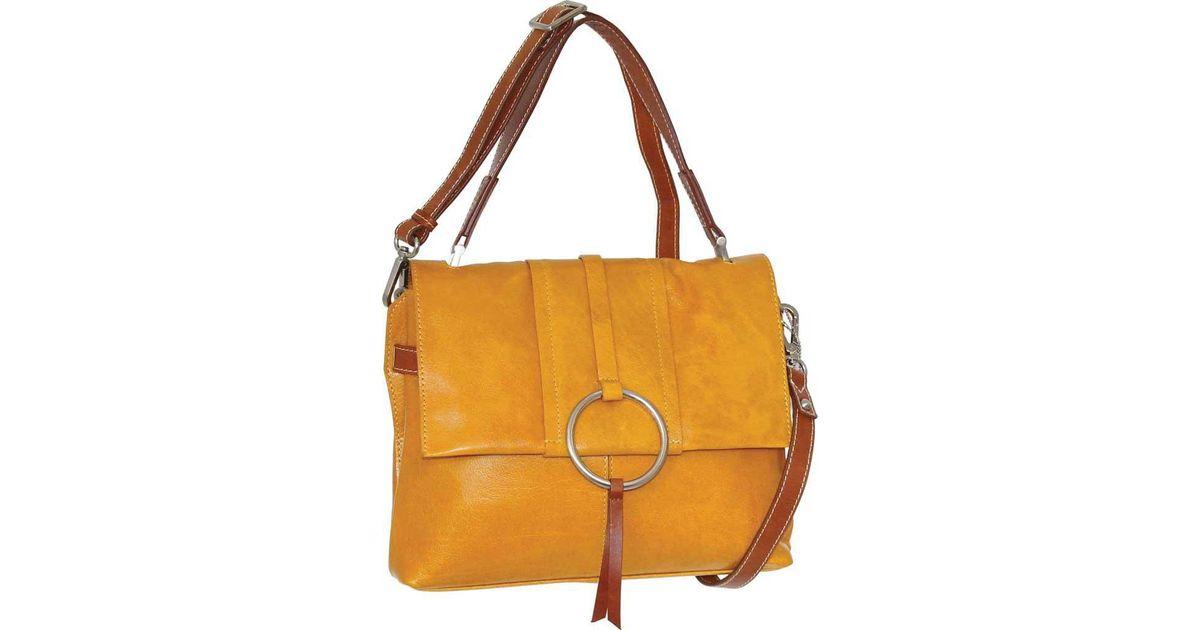 d3c47c5b124e Lyst - Nino Bossi Nyla Leather Satchel