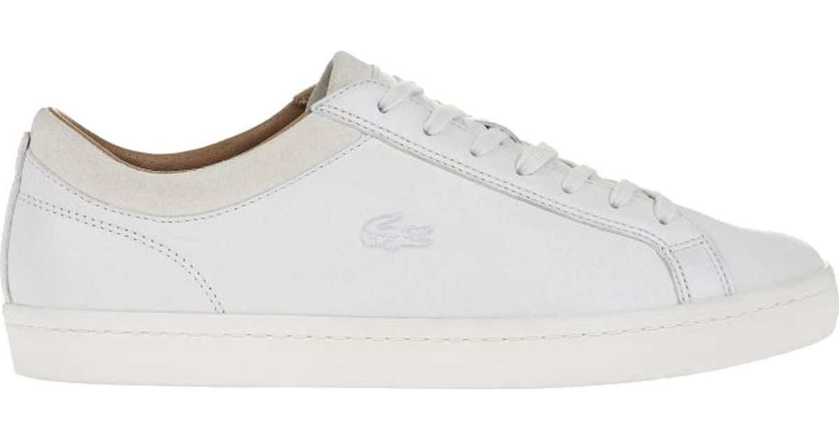 1259aeec6 Lyst - Lacoste Straightset Crf 2 Sneaker in White for Men