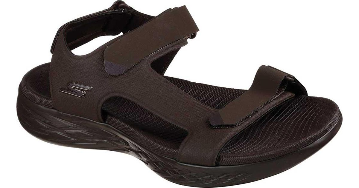 52de2ef70c2 Lyst - Skechers On The Go 600 Venture River Sandal in Brown for Men