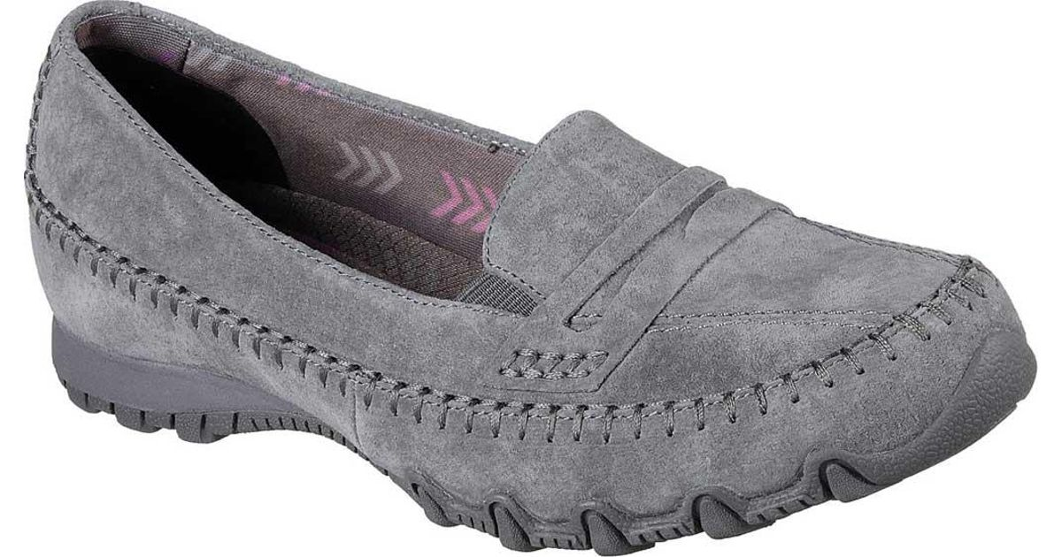 bf846dca57d Lyst - Skechers Relaxed Fit Bikers Penny Lane Loafer in Gray
