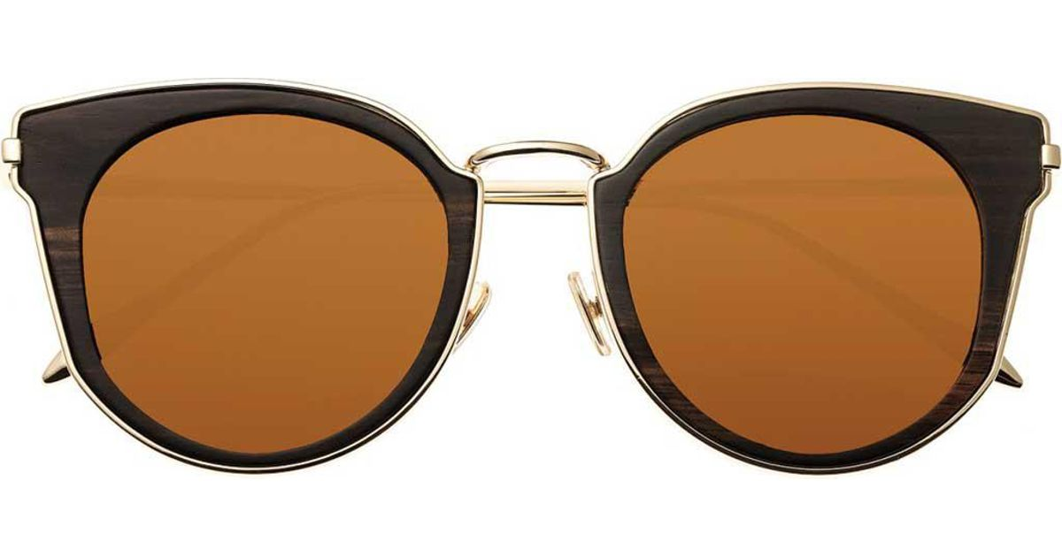 85f237b04 Earth Wood Karekare Sunglasses W/polarized Lenses - Espresso/brown in Brown  - Lyst
