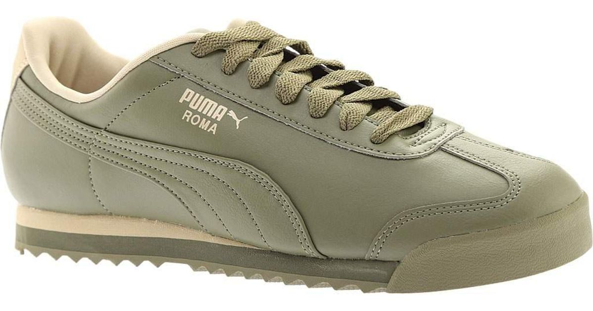 Lyst - PUMA Roma Basic in Green for Men 8b4706560