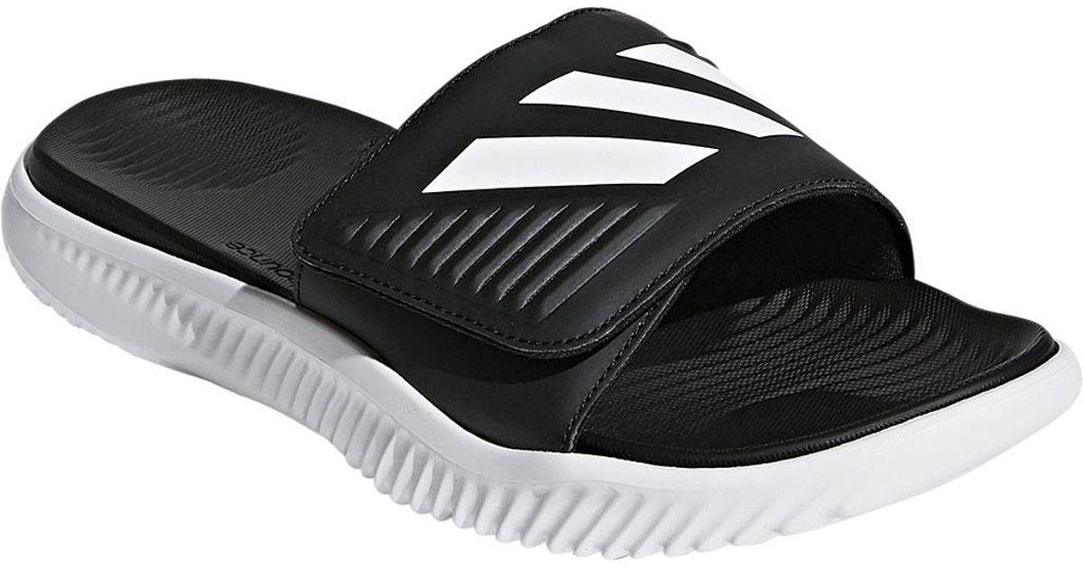 dbee8e7e28d4 Lyst - adidas Alphabounce Slide in Black for Men