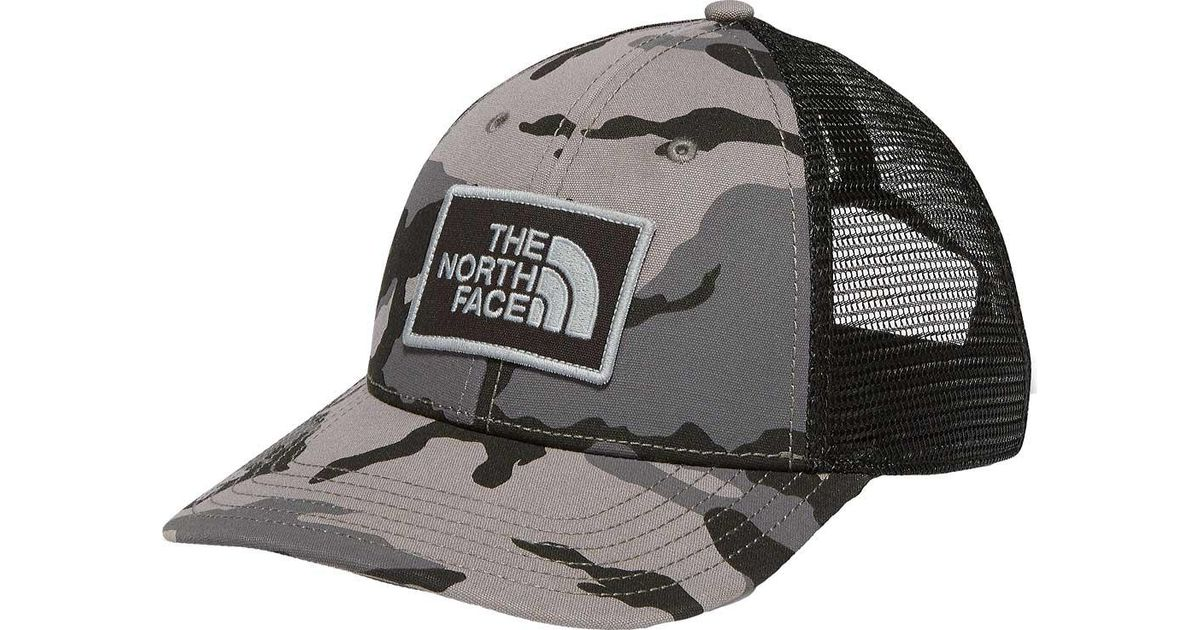 Lyst - The North Face Printed Mudder Trucker Hat in Gray for Men 5d8518f7cf3